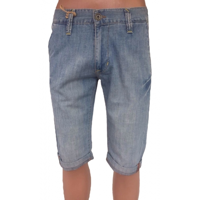 Мужские шорты Tommy E11 голубого цвета