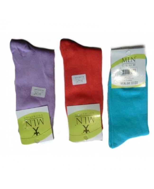 Носки женские  цветные в Ассорти