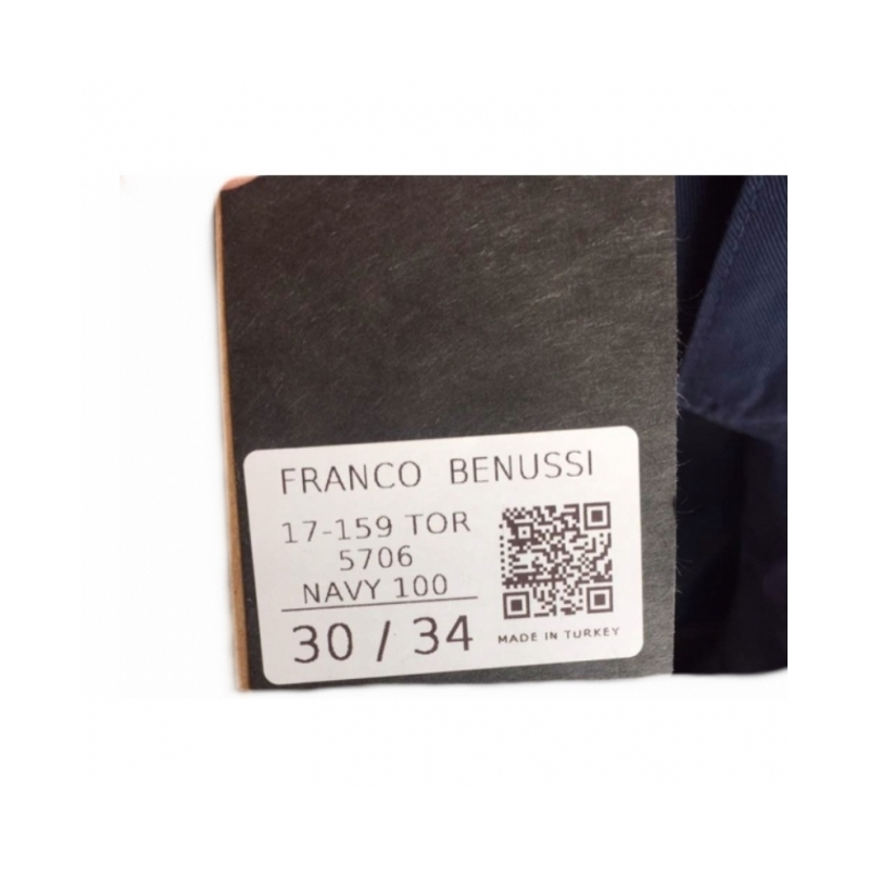 TORINO- джинсы Franco Benussi 17-159 Navy