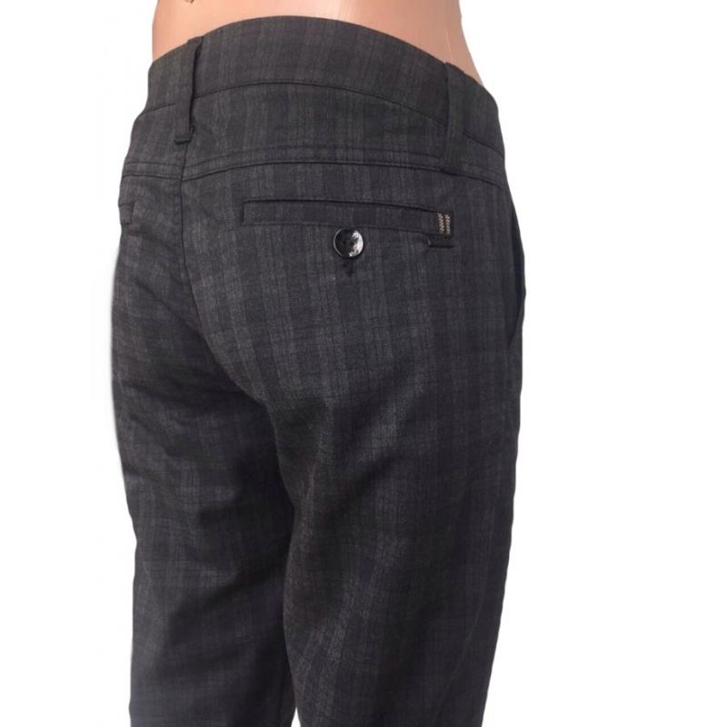 Со скидкой -60% брюки в клетку купить
