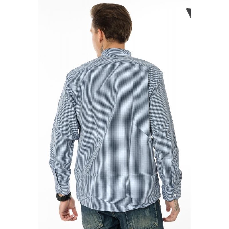 Рубашка мужская Gelix с длинным рукавом G 1207002 синяя