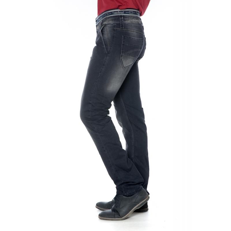 Зауженные джинсы Franco Benussi 14-080 темно-синие