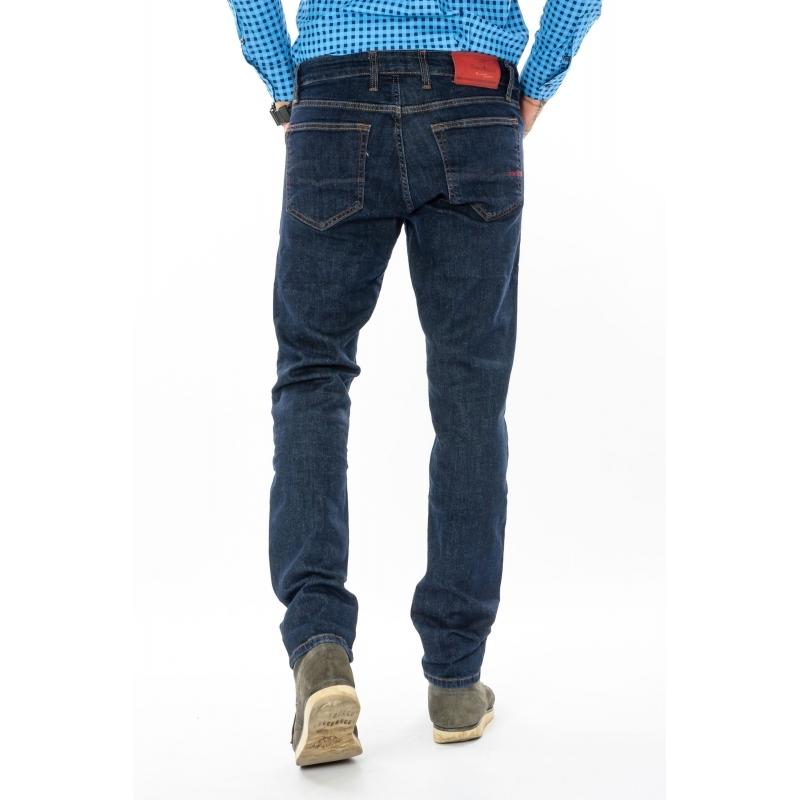 Мужские джинсы Franco Benussi 16-107 темно-синие