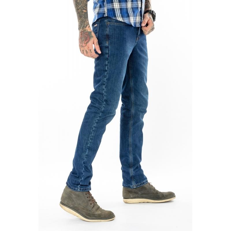 Утепленные мужские джинсы Fb 16-625 синие