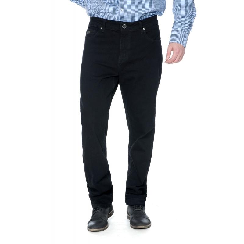Батальные мужские джинсы Franco Benussi 16-625 черные