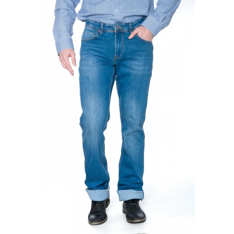 Джинсы мужские на высокий рост 19-420 синие