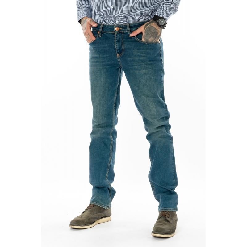 Мужские джинсы Franco Benussi 20-139 зеленые