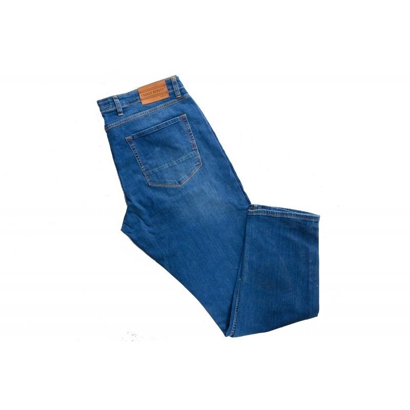 Чоловічі джинси супер великих розмірів 20-146 сині