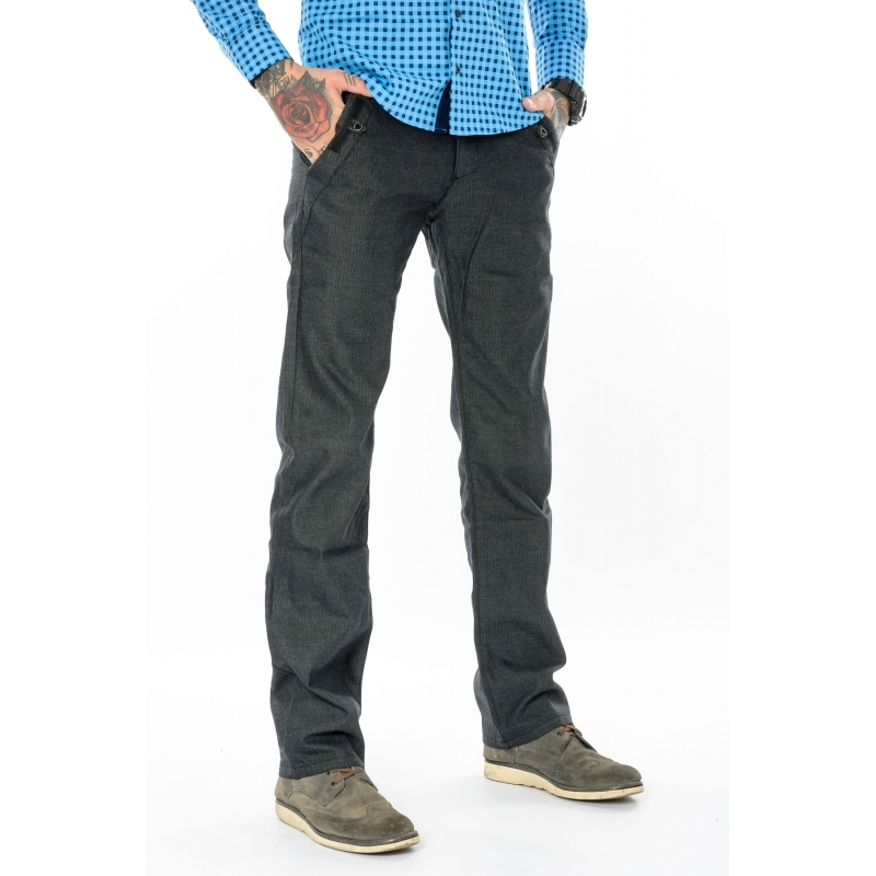 Мужские джинсы Franco Benussi 3227 темно-серые