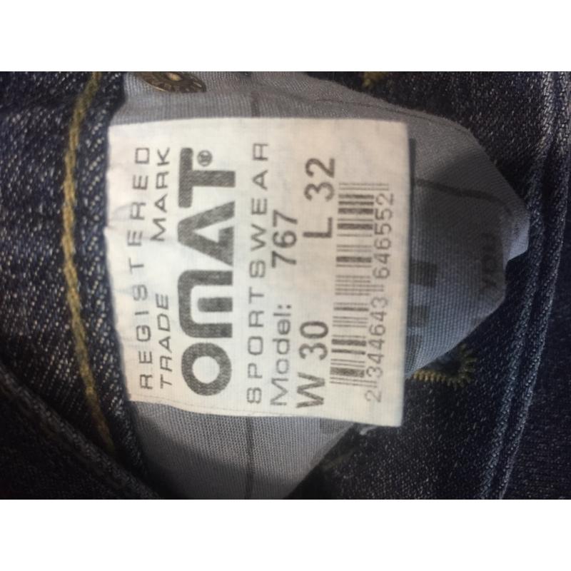 Мужские джинсы трубы OMAT 767