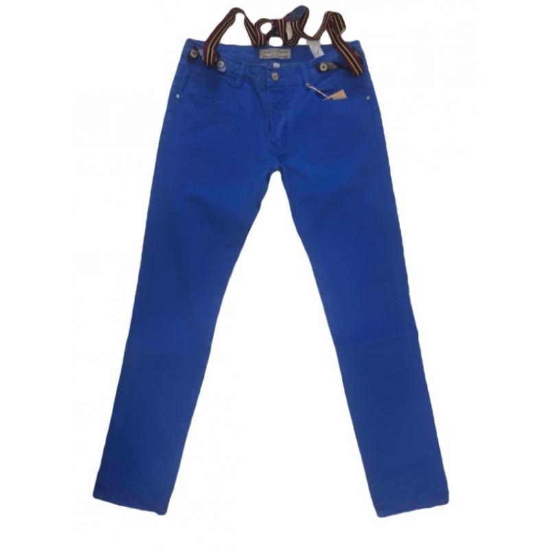 Джинсы мужские Blue white 2052