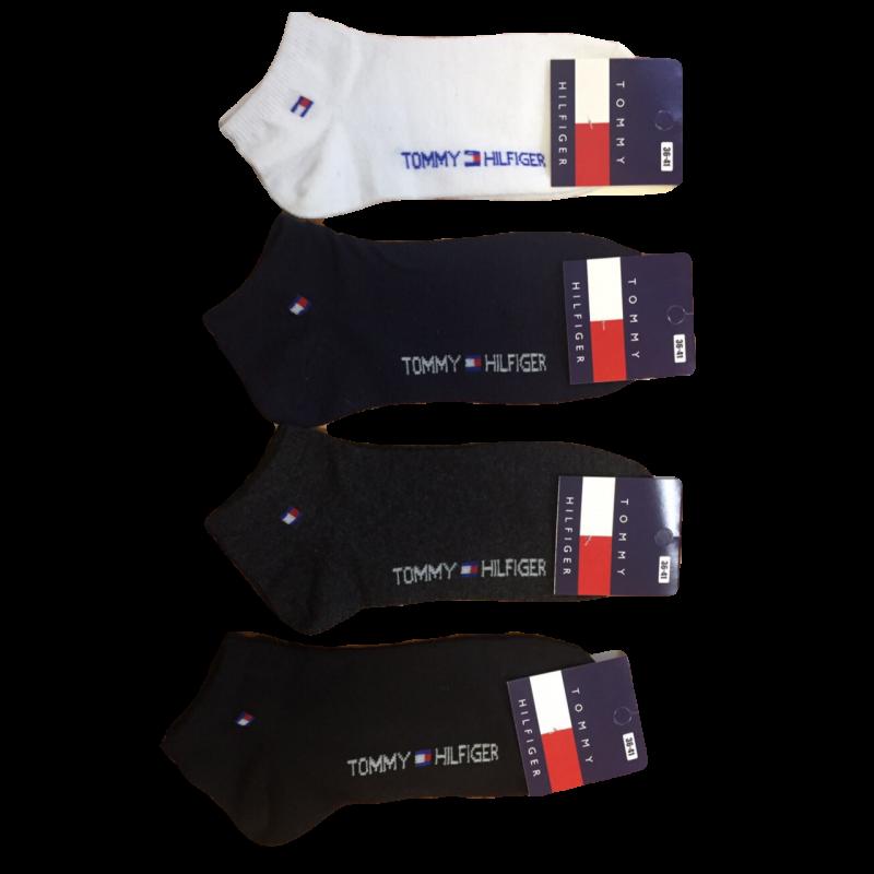 Носки женские короткие Tommy ассорти