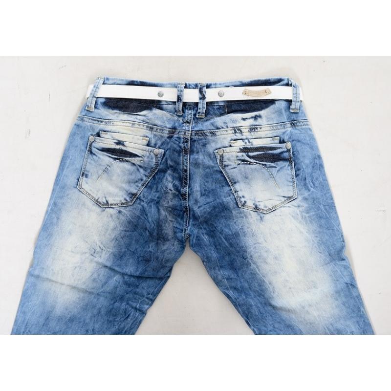 Джинсы женские Омат 9905-1034 синие