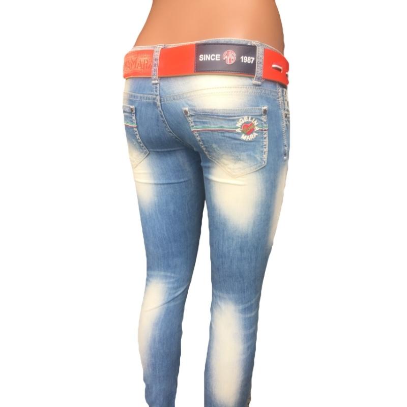 Узкие джинсы женские Angelina mara