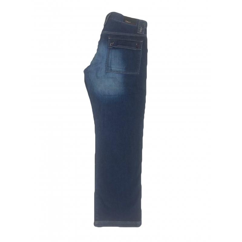 Джинсы мужские OMAT PNT 40 A с косыми карманами синие