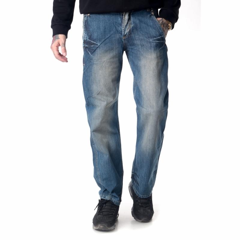 Стильные джинсы мужские E-PNT 125 синие