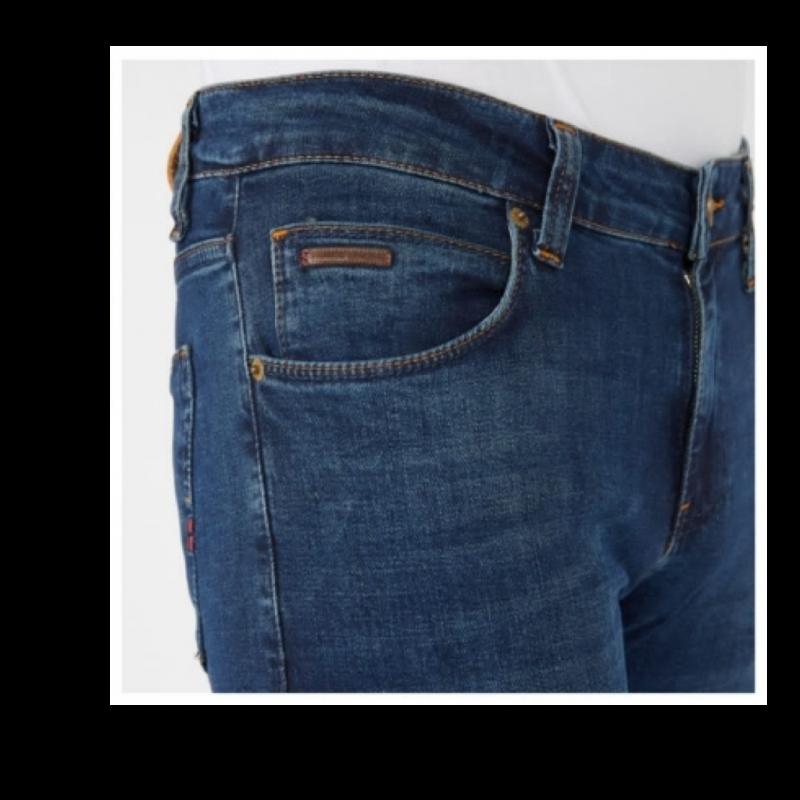 Джинсы Franco Benussi 21-660 тинт синие