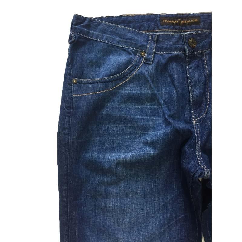 Мужские джинсы Franco Benussi 1013 больших размеров синие