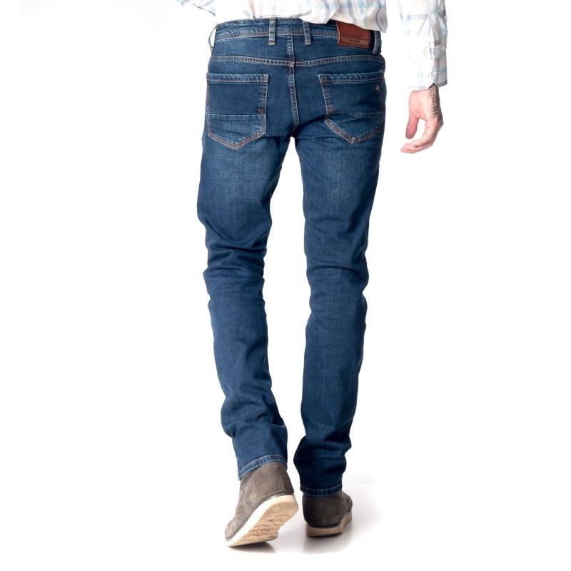 Мужские джинсы Franco Benussi 18-751 синие