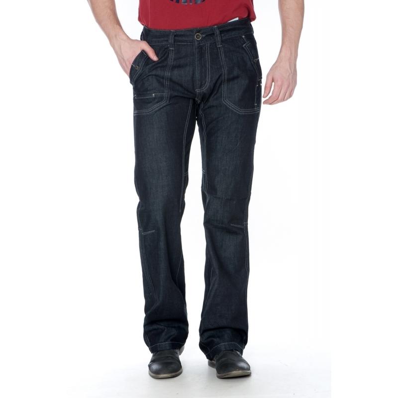 Распродажа мужских джинсов FB 3073 темно-серые