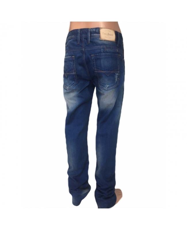 Зауженные джинсы мужские 14-003