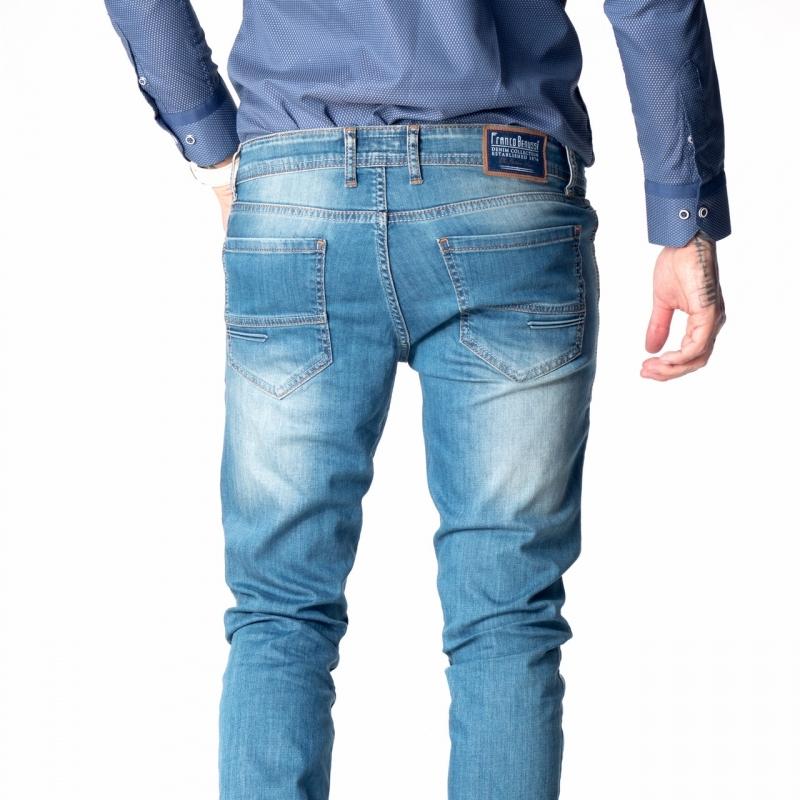 Barcelona - мужские джинсы зауженные 18-176 синие