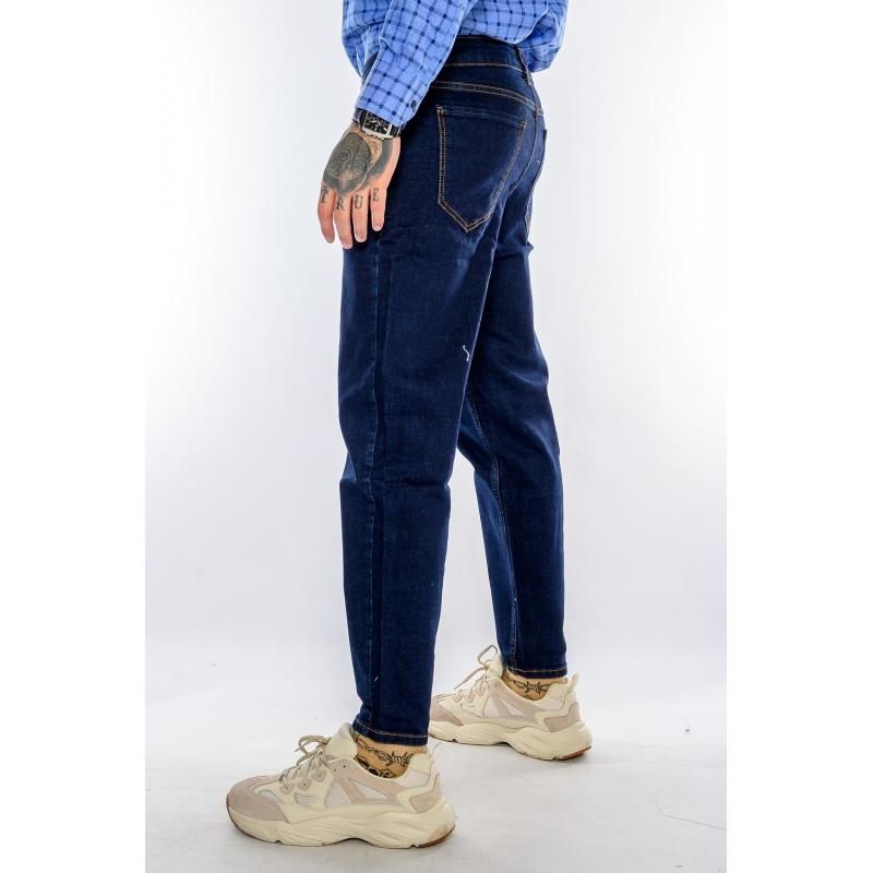 Джинсы мужские зауженные MOM 21540-080 темно-синие