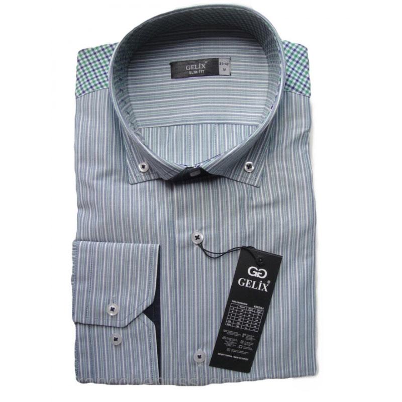 Рубашка мужская в полоску от Gelix