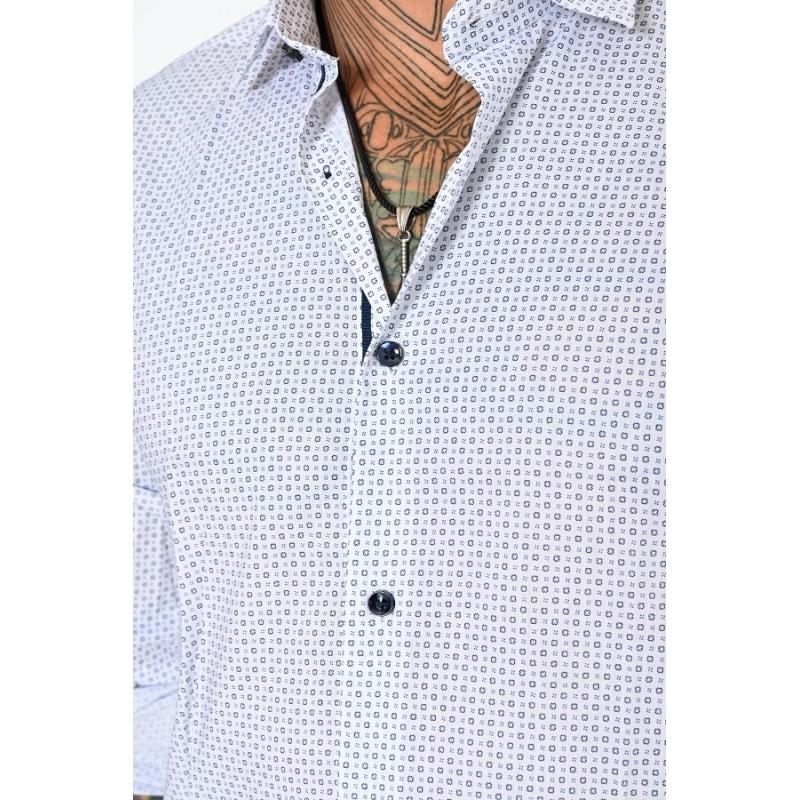 Рубашка мужская с длинным рукавом 129901