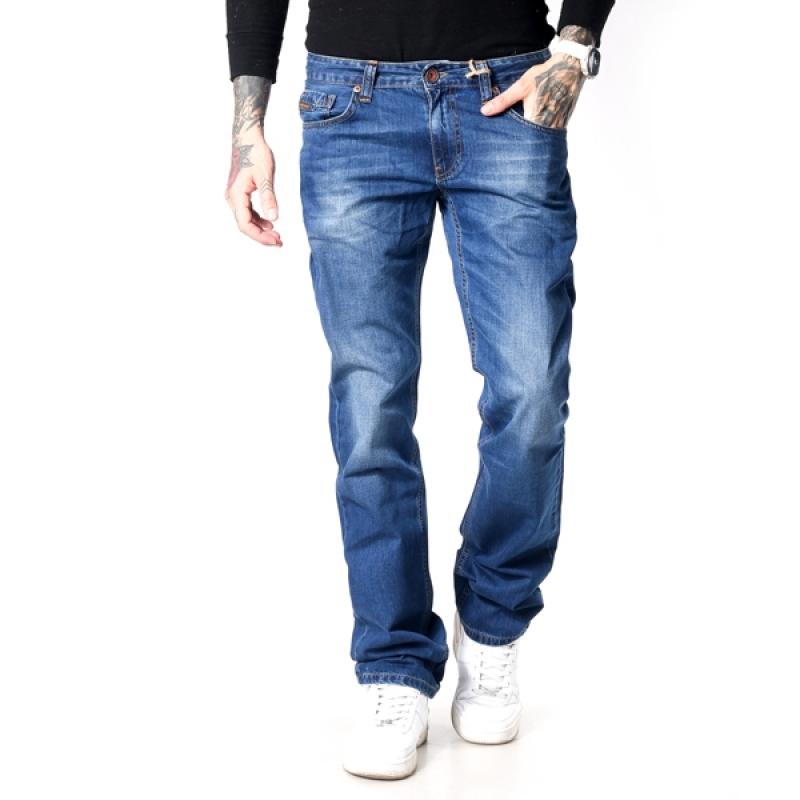 TORINO - джинсы мужские 17-155 синие 36 рост
