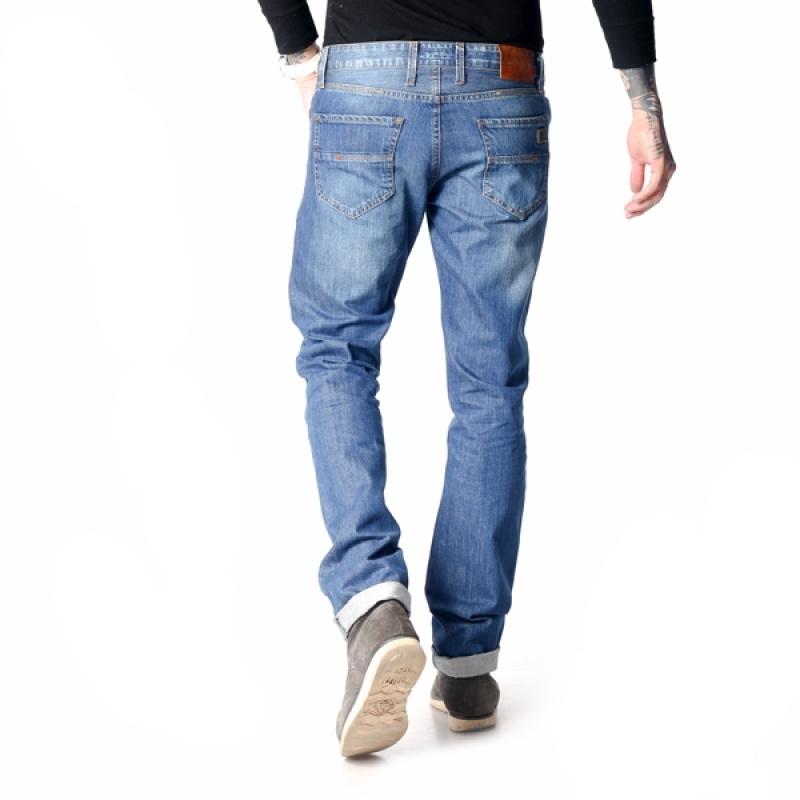 Мужские джинсы Franco Benussi 16-160 на высокий рост синие