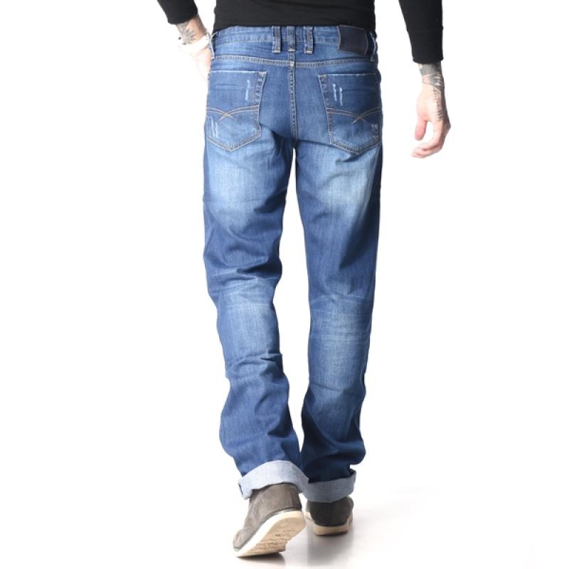Джинсы мужские Franco Benussi 12-182 синие