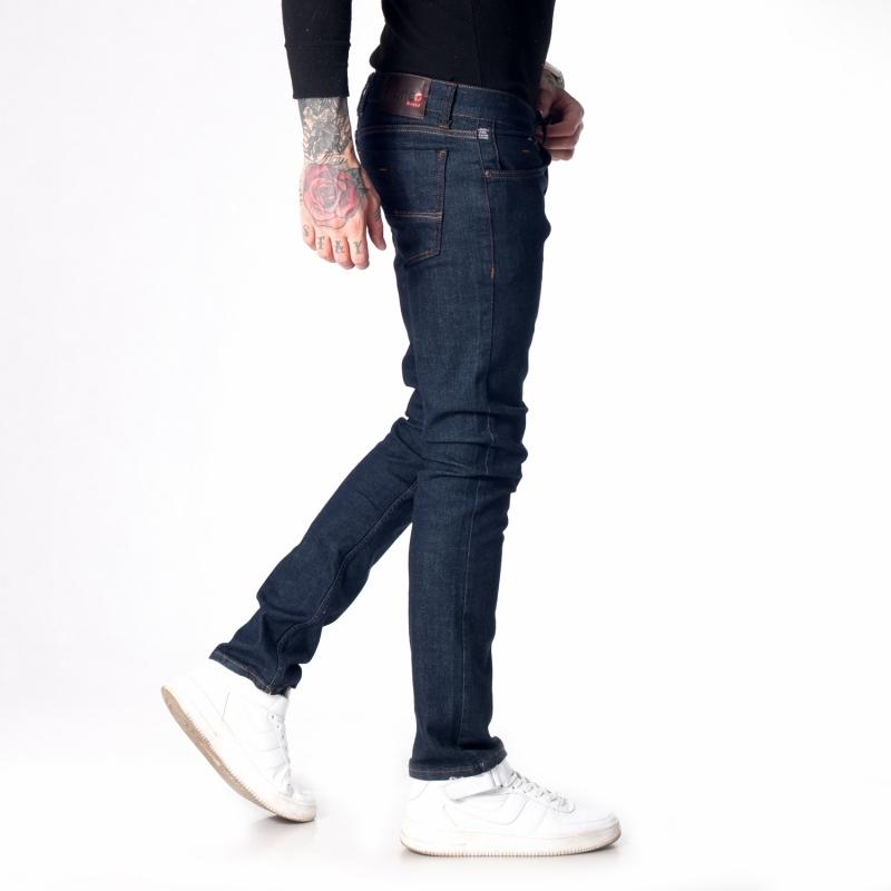 Мужские джинсы зауженные однотонные