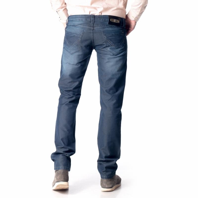 Темно-синие джинсы для мужчин