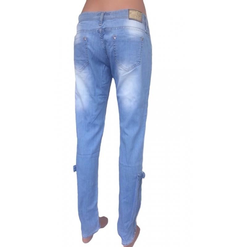 Летние женские джинсы JP 355 светлые