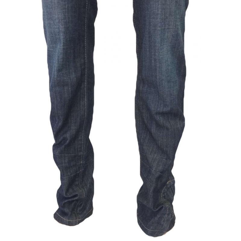 Джинсы женские ОМАТ 9639 Темно-синие