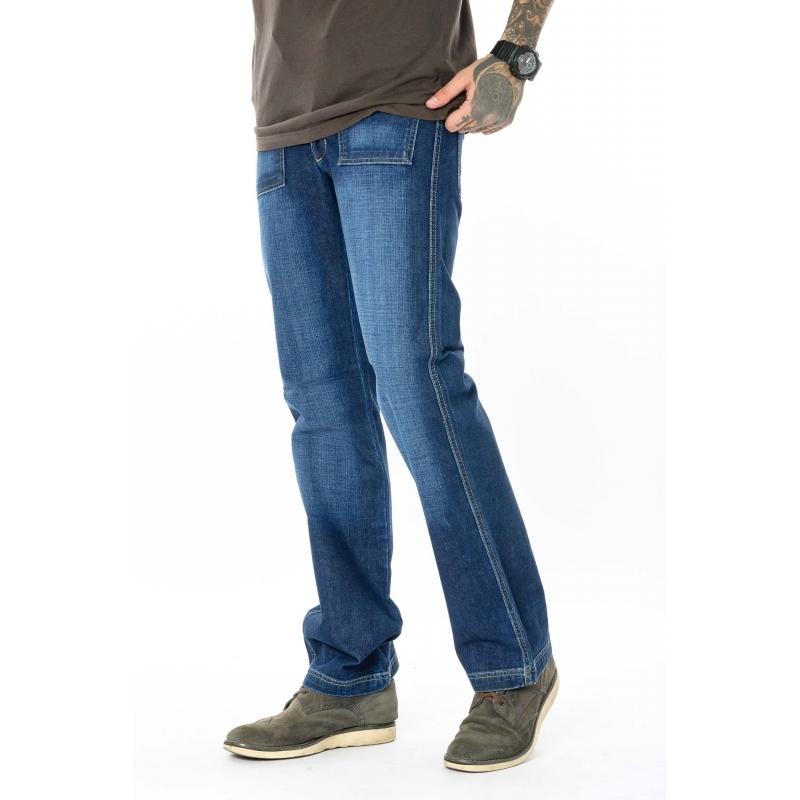 Стильные джинсы мужские с карманами