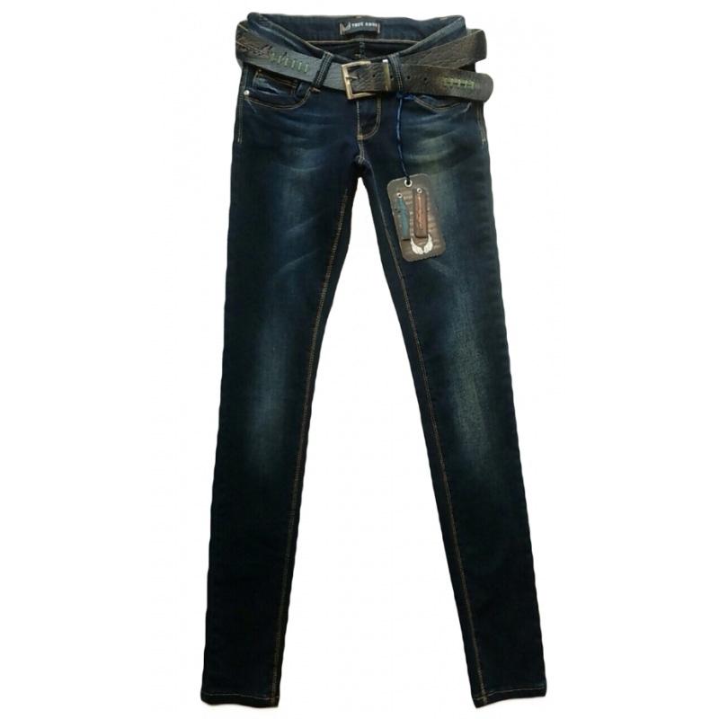 Узкие джинсы женские True angel TR-811-162