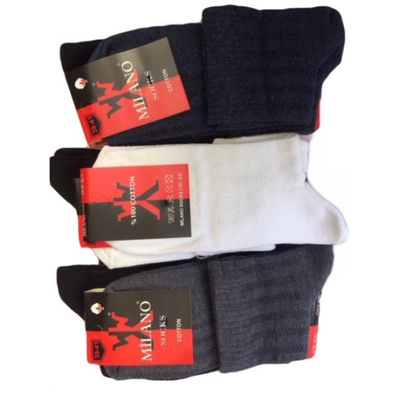 Короткие носки Milano мужские летние