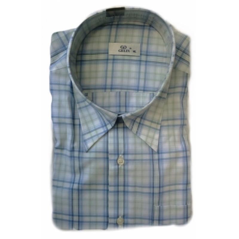 Рубашка в клетку мужская Gelix