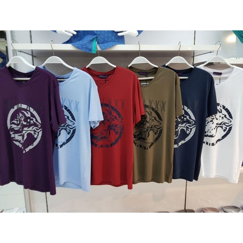 мужские футболки Gelix 929 с принтами