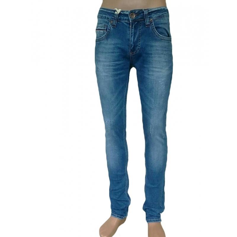 Рваные джинсы Franco benussi 17-144 синие