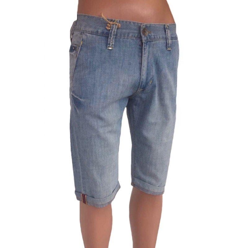 Мужские шорты голубого цвета