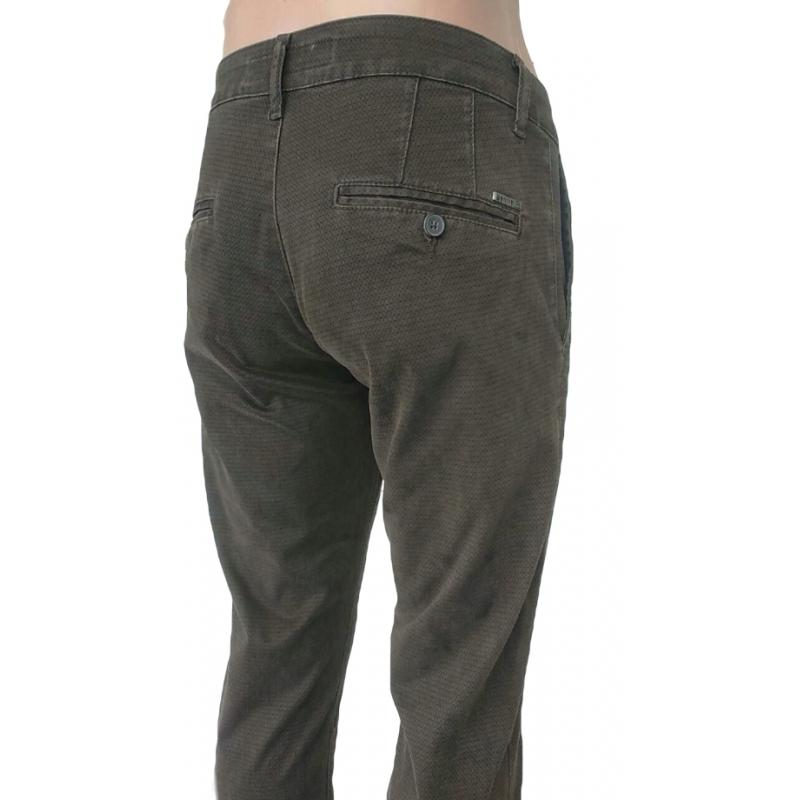 Мужские джинсы Franco Benussi 16-172 коричневые