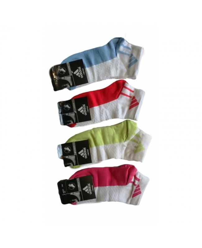 Носки женские средней высоты в сетку ассорти.