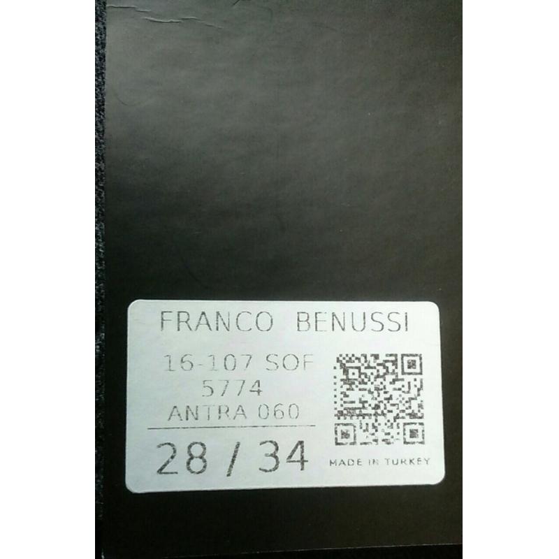 Брюки мужские Franco Benussi Fb 16107 серые