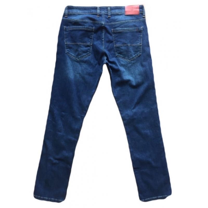 Мужские джинсы больших размеров 17-390 синие