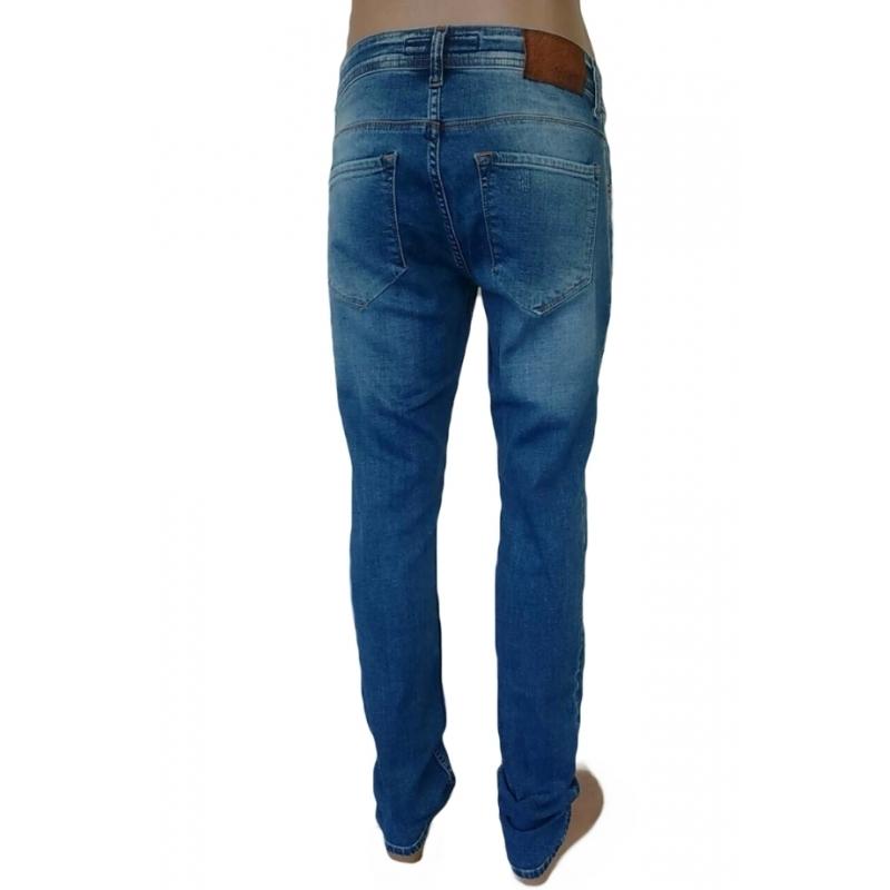 Barcelona- рваные мужские джинсы