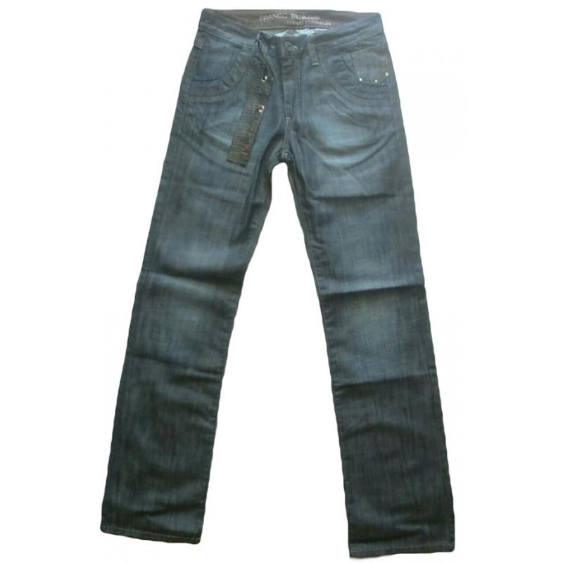 Джинсы мужские Franco benussi 1078 синие